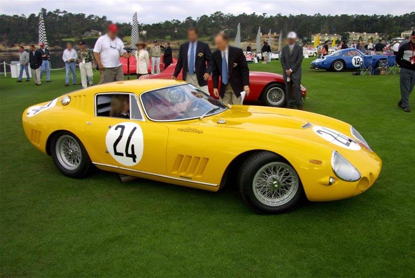 Ferrari  Gtb  Race Car